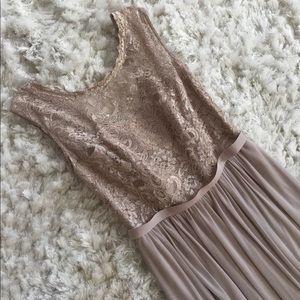 Davids Bridal Long Lace Gown